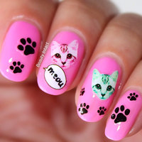 Bundle Monster 3D Nail Art Stickers Decals - 15 Packs - French Nail Tips Design Set #04 uploaded by Neeta G.