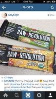 Raw Revolution Organic Live Food Bar Cashew & Agave Nectar,12 Pack uploaded by Catalina F.