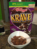 Kellogg's Cereal Krave Double Chocolate uploaded by Chiqui R.