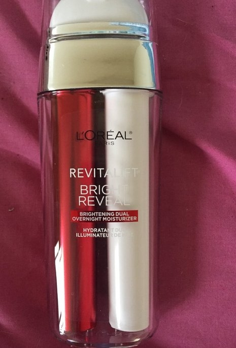 L'Oréal Paris Revitalift Bright Reveal Brightening Dual Overnight Moisturizer uploaded by Cat F.