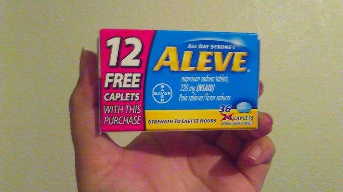 Aleve Caplets uploaded by Jacqueline L.