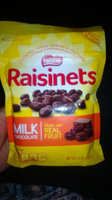 Nestlé RAISINETS Milk Chocolate Real Fruit uploaded by Jacqueline L.