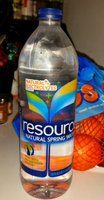 resource® Natural Spring Water uploaded by Raechal M.