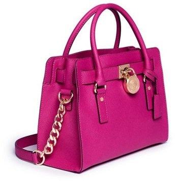 MICHAEL Michael Kors Hamilton Large Tote Bag, Black uploaded by Renee B.