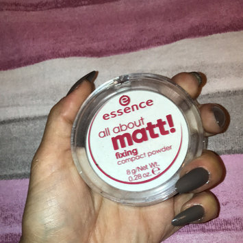 Photo of Essence All About Matt! Fixing Compact Powder uploaded by Arianna C.
