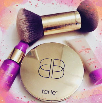 Photo of tarte Double Duty Beauty Powder Foundation Brush & Removable Sponge uploaded by Rebel B.