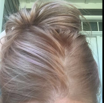 Photo of Feria Multi-Faceted Shimmering Colour Fashion Metallics 822 Medium Iridescent Blonde Hair Color 1 kt Box uploaded by Brandy D.