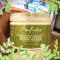 SheaMoisture Bamboo Extract & Maca Root Resilient Growth Protein Masque uploaded by Nicole K.