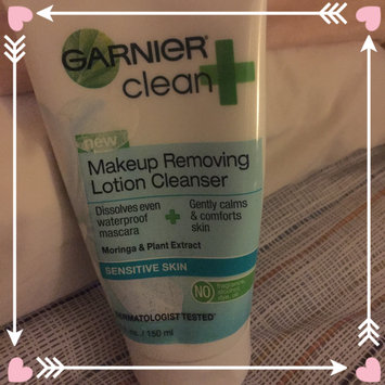 Photo of Garnier Skinactive Clean + Makeup Removing Lotion Cleanser uploaded by Paulina A.