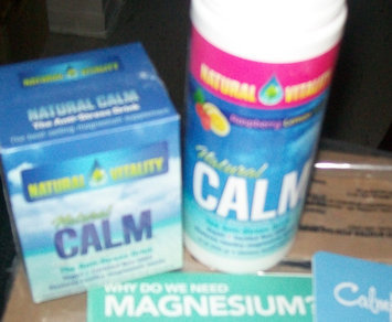 Photo of Natural Vitality Natural Calm Relaxing Magnesium Supplement uploaded by Lynn D.
