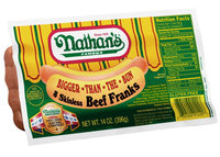 Nathan's Famous® Angus Beef Franks 6 ct Pack uploaded by Elita N.