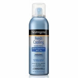 Neutrogena Fresh Cooling Sunscreen uploaded by Becky M.