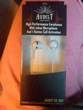 Photo of AUDIST SX-3511 Earphones with Inline Universal Microphone and 1-Button Call for all Apple, Android and MP3 Devices - White [White] uploaded by Marylou L.