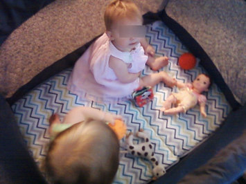 Photo of Fisher Price Ultra-Lite Day & Night Playard - Chevron - 1 ct. uploaded by Kathe F.