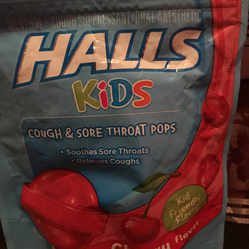 Photo of HALLS Kids Cherry Pops uploaded by crista t.