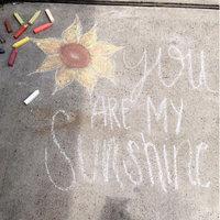 Crayola Washable Sidewalk Chalk, 48 Assorted Bright Colors uploaded by Alexia V.