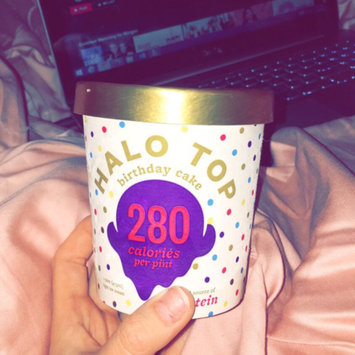 Photo of Halo Top Birthday Cake Ice Cream uploaded by Morgan S.