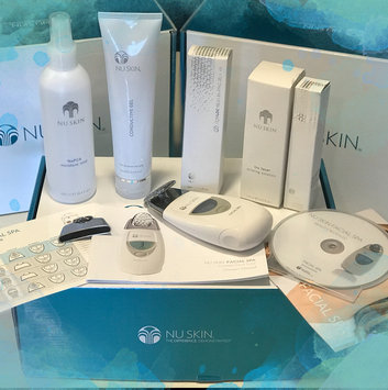 Photo of Nu Skin reDESIGN Galvanic Face Spa Package (White) uploaded by josarih b.