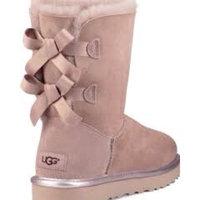 Women's Ugg 'Bailey Bow Ii' Genuine Shearling Lined Boot, Size 6 M - Brown uploaded by 🌞Melek K.