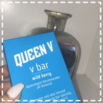 Photo of Queen V The Ph-balance Rosewater & Aloe Cleansing Bar, Wild Berry, 3.5 oz uploaded by Kat C.