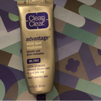 Photo of Clean & Clear® Advantage® Acne Spot Treatment uploaded by Morgan B.