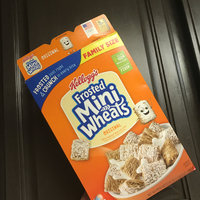Kellogg's Mini-Wheats Bite Size Frosted Cereal uploaded by Ashley R.