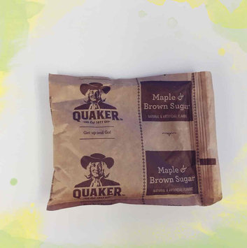 Photo of Quaker Instant Oatmeal Maple & Brown Sugar - 10 CT uploaded by Shelbi W.