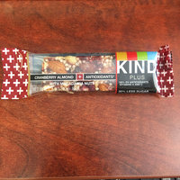 KIND® Cranberry Almond + Antioxidants With Macadamia Nuts uploaded by Olivia M.