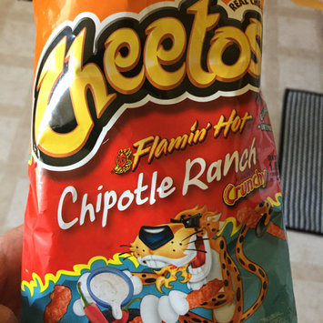 Photo of CHEETOS® Flamin' Hot® Chipotle Ranch Crunchy Cheese Flavored Snacks uploaded by Terry g.