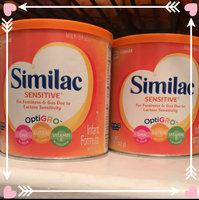 Similac Sensitive® Infant Formula uploaded by Jennifer G.
