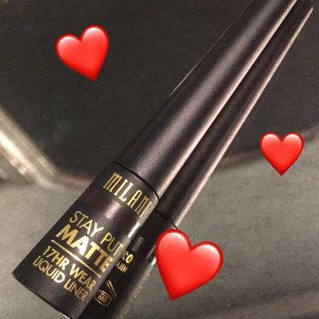 Photo of Milani Stay Put Matte 17hr Wear Liquid Eyeliner uploaded by Mak S.