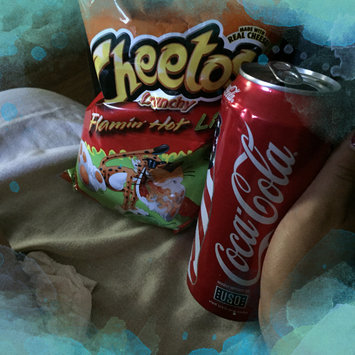 CHEETOS® Crunchy Flamin' Hot® Cheese Flavored Snacks uploaded by Maritza A.