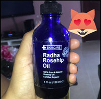 Radha Beauty Rosehip Oil - 100% Pure Cold Pressed Certified Organic 4 fl. oz. - BEST moisturizer to heal Dry Skin & Fine Lines - Virgin Rose hip Seed Oil For Face and Skin uploaded by Susana P.