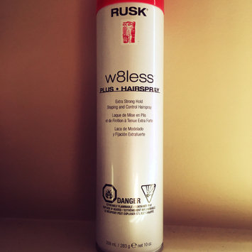 Photo of Rusk W8less Hairspray uploaded by Samantha M.
