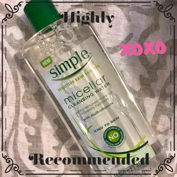 Simple® Micellar Water Cleanser uploaded by Esther B.