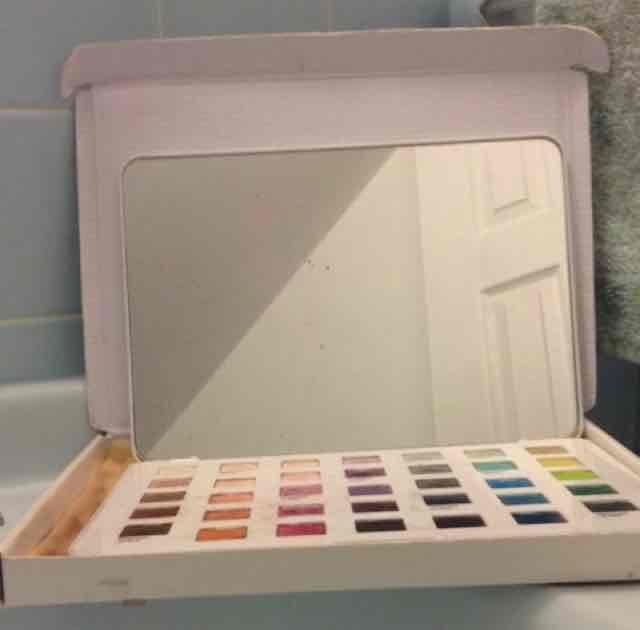 SEPHORA+PANTONE UNIVERSE Modern Watercolors Eyes Palette 24 x 0.03 oz uploaded by stefanie b.