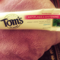 Tom's OF MAINE Peppermint Fluoride-Free Antiplaque & Whitening Toothpaste uploaded by Becca A.