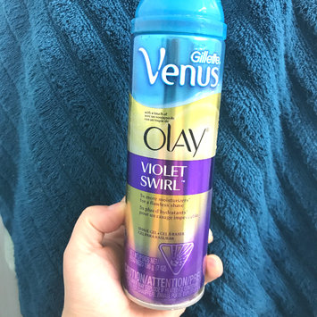 Photo of Gillette Venus Ultramoisture Violet Swirl Shave Gel with Olay uploaded by Savannah M.