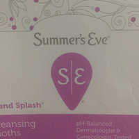 Sunbeam Summer's Eve Flushable Feminine Cleaning Cloths uploaded by Jeanine W.