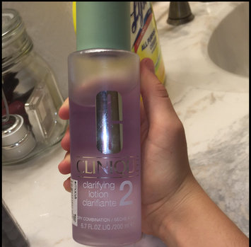 Photo of Clinique Clarifying Lotion 2 uploaded by Mikaleigh H.
