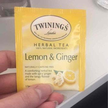 Twinings® Lemon & Ginger Herbal Tea uploaded by Roxanne K.