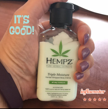Photo of Hempz Triple Moisture Herbal Whipped Body Crème uploaded by Katie K.