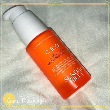 Photo of SUNDAY RILEY C.E.O. Rapid Flash Brightening Serum uploaded by Maggie R.