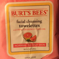 Burt's Bees Facial Cleansing Towelettes Pink Grapefruit uploaded by Ragan B.