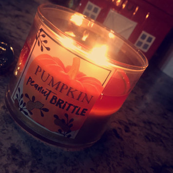 Photo of Bath & Body Works® PUMPKIN CUPCAKE 3-Wick Scented Candle uploaded by Brianna S.