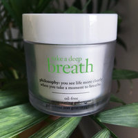 philosophy take a deep breath oil-free oxygenating gel cream uploaded by Katie D.