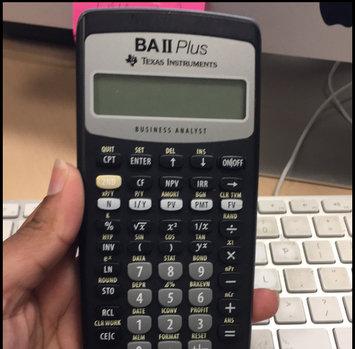 Photo of Texas Instruments TI-30X IIS 2-Line Scientific Calculator, Pink [Pink, 1] uploaded by Natasha C.