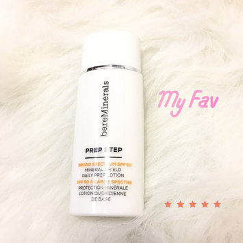 Photo of bareMinerals Prep Step SPF 50 Mineral Shield Daily Prep Lotion uploaded by Glennis R.