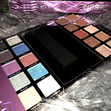 Photo of Urban Decay Heavy Metals Metallic Eyeshadow Palette uploaded by China Jade H.