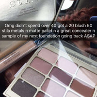 stila Matte 'n Metal Eye Shadow Palette uploaded by Chelsea D.